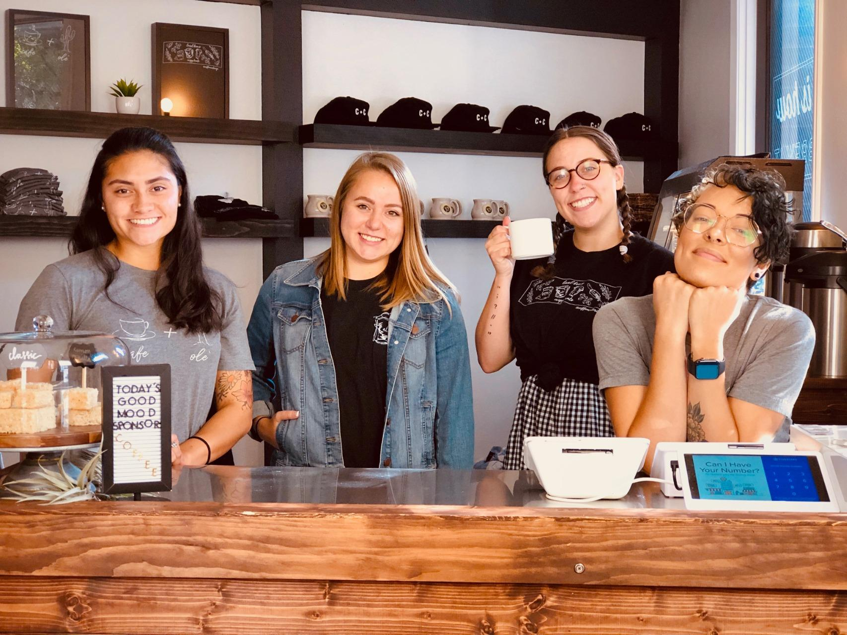 Event Collective staff from Coffee and Crisp